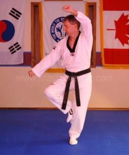 Taekwondo Stances Crane Stance Closed Stance Cross Stance Master Keyver Taekwondo Uxbridge Onatrio